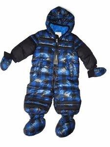 b1ad5d2b3 Amazon.com  Diesel Snowsuit 3-Piece Baby-Boys Size 3 6 Months Blue ...