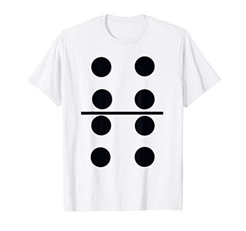 T-Shirt Domino Game Halloween Costume