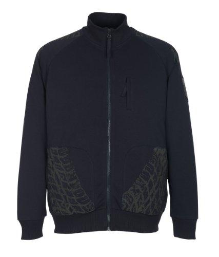 """Mascot Sweatshirt mit Reißverschluss """"Belfort"""", 1 Stück, 3XL, schwarz-blau, 50549-830-010-3XL"""