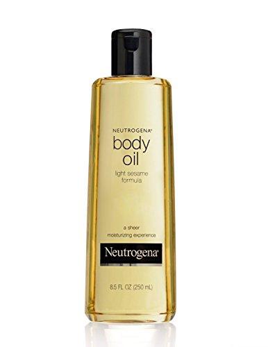 Neutrogena Body Oil Light Sesame Formula - 8.5 Ounce, 3 Pack