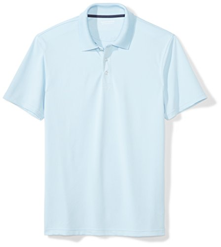 light blue polo shirt - 6