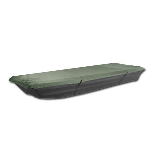 Komo Covers Jon Boat Cover  10 12 Foot Boats  For Storage   Transport  Waterproof  Green