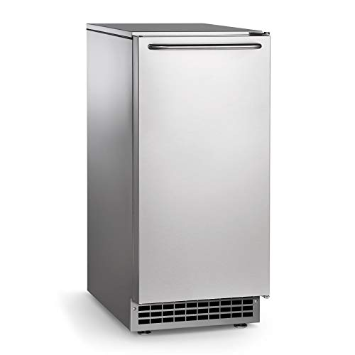 Scotsman CU50PA-1 Undercounter Top Hat Ice Maker - 65 lbs/day, Pump Drain, Outdoor Rated, ()