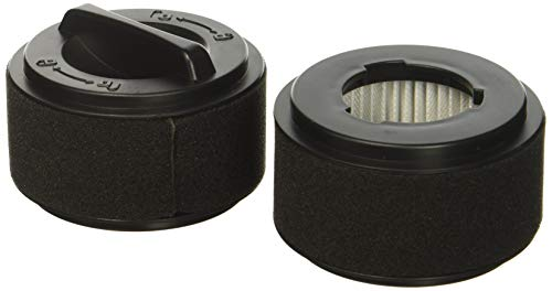 (Pack of 2) Inner & Washable Outer Filter for Bissell Easy Vac Part # 203-7593 by MaximalPower (2 Sets)