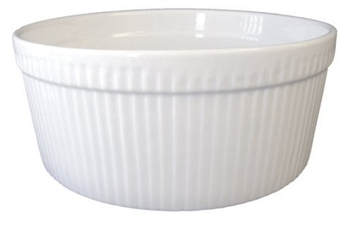 BIA Cordon Bleu 1-1/2-Quart Souffle, White (Small Oven Safe Dishes compare prices)