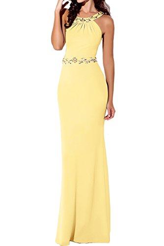Vestido Vestido amarillo mujer amarillo amarillo mujer mujer para Topkleider para Topkleider Vestido Topkleider para wtw1qrxdf