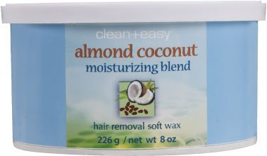 Almond Coconut Moisturizing Blend Hair Removal Soft Wax DUO