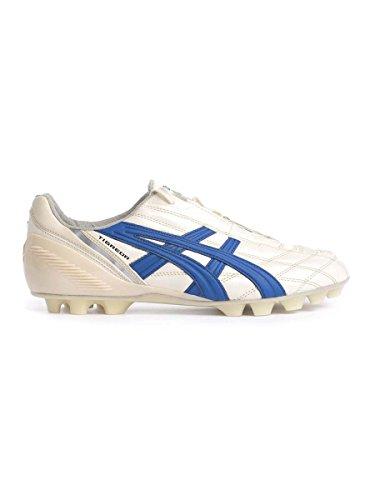 Asics Men Tigreor It Footbal Shoes Multicolor (Cultura Gold/ Italian Blue)