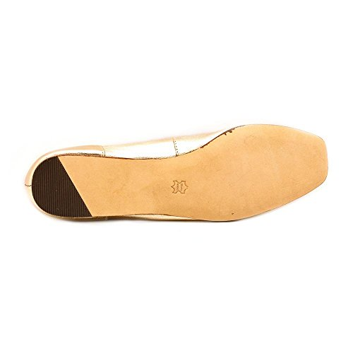 ARRAY Womens Freedom Leather Square Toe Loafers Champagne mtXRfG