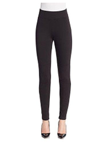 saks-fifth-avenue-womens-black-leggings-m-l