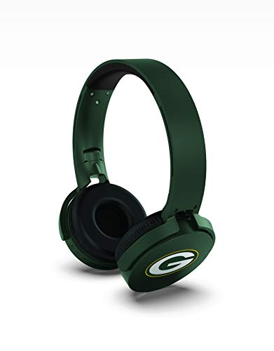 NFL Prime Brands Group Wireless Bluetooth Headphones, Green Bay Packers