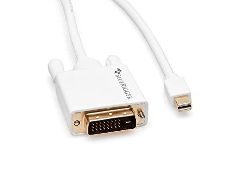 BlueRigger Mini DisplayPort  Mini DP  | Thunderbolt to DVI Male Adapter Cable  6 Feet