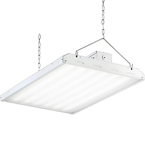 High Bay Light Fixture - Hykolity 2FT LED High Bay Shop Light Fixture 165W [600W Fluorescent Equivalent] 21450lm 5000K Dimmable Commercial Grade Warehouse Area Indoor Industrial Lights DLC Premium 4.2 Certified