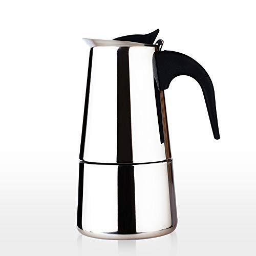 DPS&RXX Tetera para cafetera de Acero inoxidable, diseño ergonómico