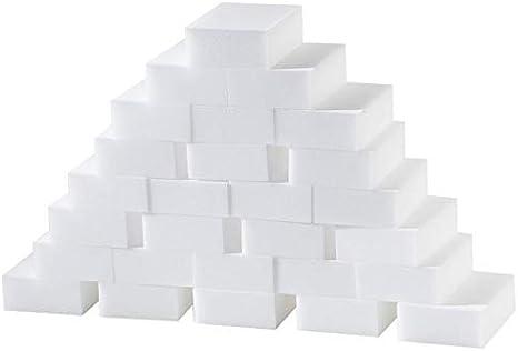 LWH888 100 esponjas de Limpieza for la eliminación de Manchas y Las Huellas sin reactivos químicos, esponjas de Limpieza
