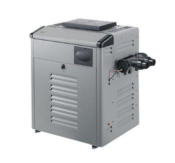 Zodiac Legacy LRZ400EN Electronic Digital Control 399K BTU Natural Gas Polymer Header Pool and Spa Heater by Zodiac