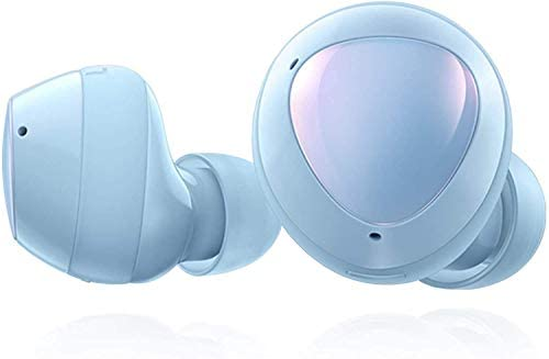 Samsung Galaxy Buds+ Plus, True Wireless Earbuds w/Improved Battery and Call Quality (Wireless Charging Case Included), (International Version) (Cloud Blue)