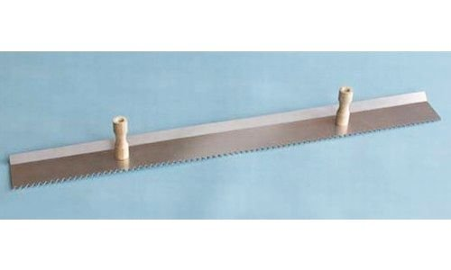 Double Handle Plaster and Stucco Scratcher Darby