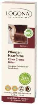 Logona Naturkosmetik Herbal Hair Color Cream - Tizian - 5.1 oz