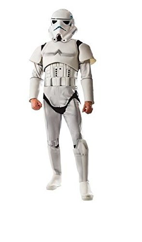 Disney Star Wars Stormtrooper Mens Costume Large (42-44)]()