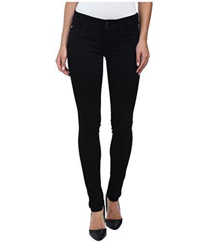 HUDSON Women's Collin Skinny Jeans in Black Black 34W x 31L