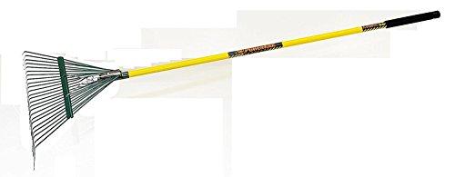 Seymour SR22 54-Inch Fiberglass Handle 24 Tine Lawn Rake