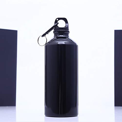 ボトル スポーツボトル プラスチック BPA フリー 直飲み - 550ml 水筒 ウォーターボトル アウトドアボトル 自転車 スポーツ 登山 漏れ防止 男女兼用 (Color : Black)  Black B07P9QQY47