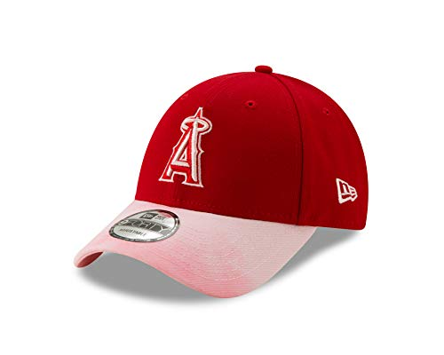 New Era Los Angeles Angels 2019 Mother's Day 9FORTY Adjustable Hat - Red/Pink (Angels Hat Pink)