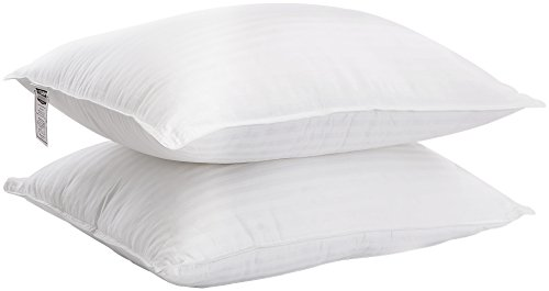 Premium Fiber Filled Bed Pillows For Sleeping, Pack of 2 , S