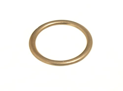 CURTAIN BLIND UPHOLSTERY RINGS HOLLOW BRASS 19MM 0D 15MM ID ( pack 2000 )