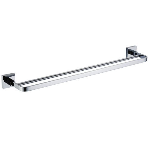 - Lightinthebox® 24 Inch Double Rod Towel Rack Wall Mount Chrome Finish Bathroom Accessory Hardware
