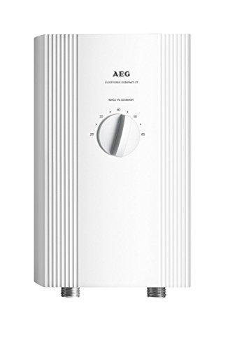 AEG 232793 DDLE Kompakt OT 1113 Elektronischer Kompakt-Durchlauferhitzer, EEK A,  wählbare Leistung 11 oder 13,5 kW
