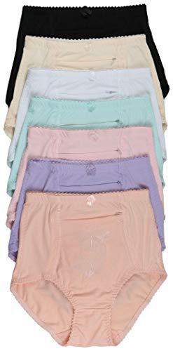 ToBeInStyle Women's Highwaisted Front Pocket Girdle - Double Flutter - 2XL ()