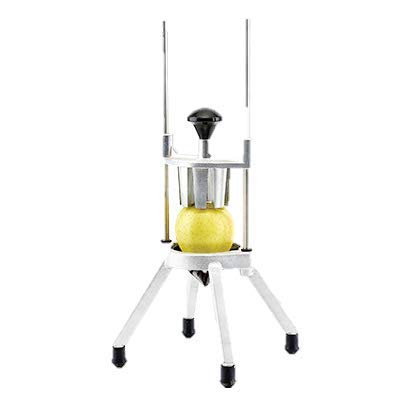 Fruit Wedge Slicer With Stainless Steel Blades, Aluminum Body