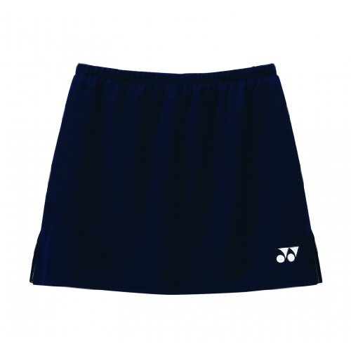 YONEX Ladies Badminton Skirt, Navy, M