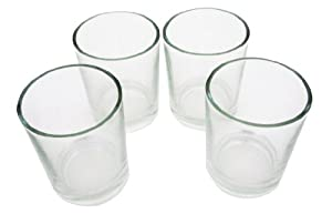Glass Shot Glasses - Set of 4