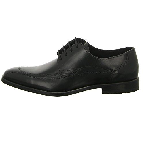 Lloyd Darris - Zapatos de cordones de Piel para hombre Negro - negro