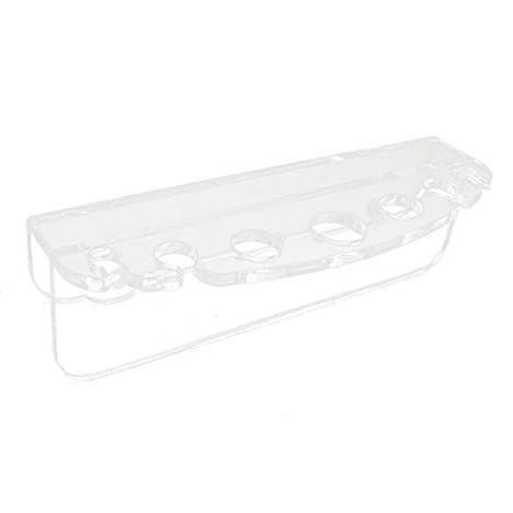 Amazon.com : eDealMax Planta NETO acrílico acuario de vidrio Pinzas tijera Fish Herramientas Holder : Pet Supplies
