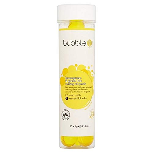 Bubble T Cosmetics Bath Pearls Lemongrass & Green Tea 100g