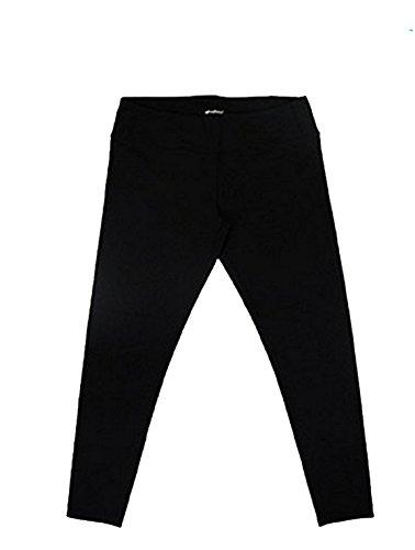 Tuff Athletics Women's Active Yoga Leggings (S, Black) (Best Leggings Brand Canada)