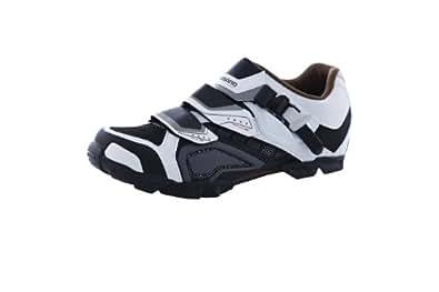 Zapatos MTB XC Shimano M162 Blanco Negro