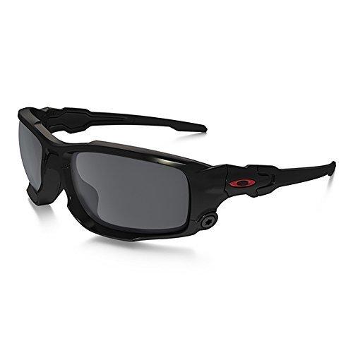 62873574498 Oakley SI Ballistic Shocktube Black with Black Iridium Lens
