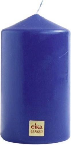 Eika Bougie Pilier, Cire de Paraffine, Bleu Roi, 8x 14cm Bolsius 105016150166