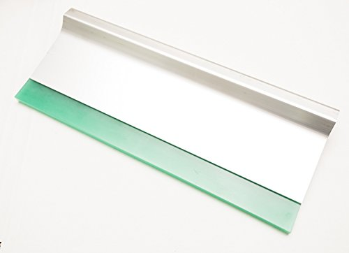 "Ergo Force Squeegee Aluminum Handle 70 Durometer for Screen Printing (14"" Squeegee w/70 durometer blade)"