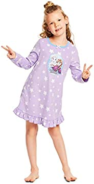 Disney Frozen 2 Girls Sleep Gown, Soft and Cozy Nightgown