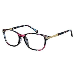 EyeBuyExpress Bifocal Reading Glasses Womens Mens Retro Style Colorful Acetate