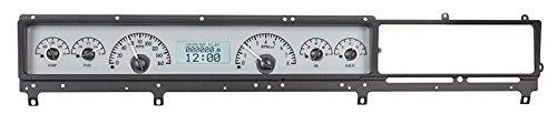 Dakota Digital 66 67 Ford Fairlane Car Analog Dash Gauges System Kit Silver Alloy White (Fairlane Dash)