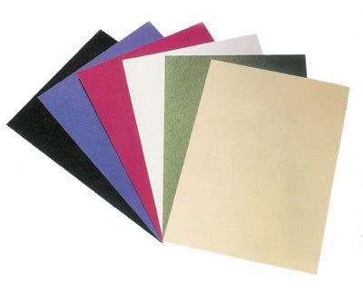 100 Pezzi PAVO Rückwände / Deckblätter CLASSIC A4, nero mit Leinenstruktur FALAMBI / BestPreisArtikel PA-713071039#1