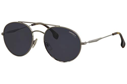 Carrera Men's Ca131s Aviator Sunglasses, RUTHENIUM/BLUE AVIO, 56 ()