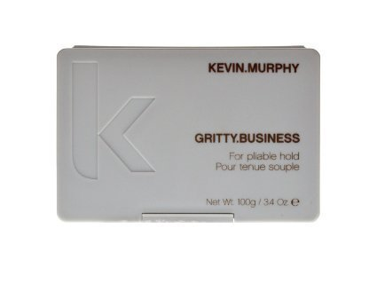 Gritty Business Clay Wax for Pliable Hold by Kevin Murphy